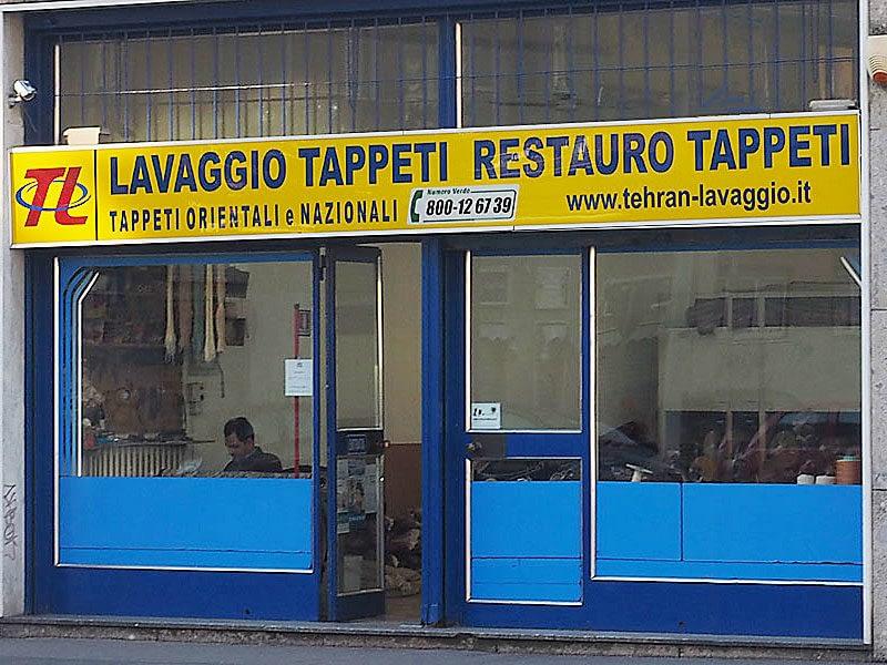 Negozio Tehran Lavaggio Tappeti a Milano