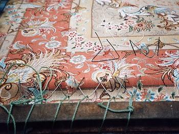 Raddrizzare un tappeto storto