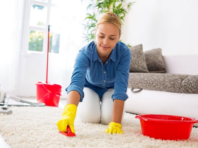 Pulire i tappeti in casa