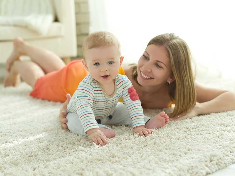 Lavaggio tappeti dei bambini