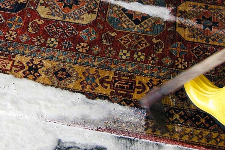 lavaggio tappeti persiani Milano